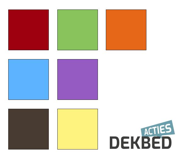 kleuren dekbedovertrekken