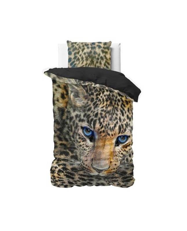 1-persoons dekbedovertrek luipaard