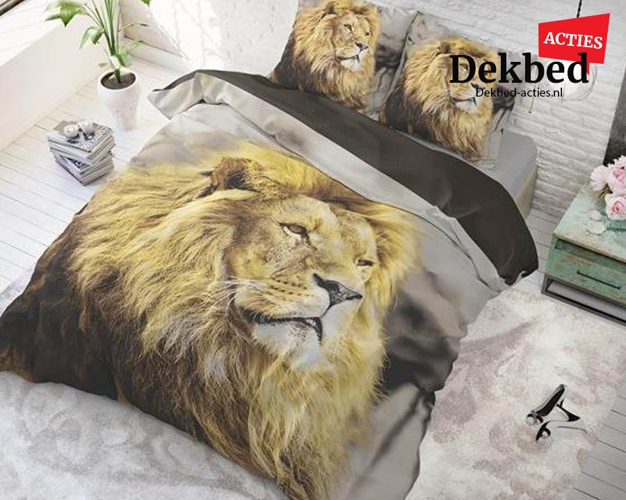 Dekbedovertrek leeuw