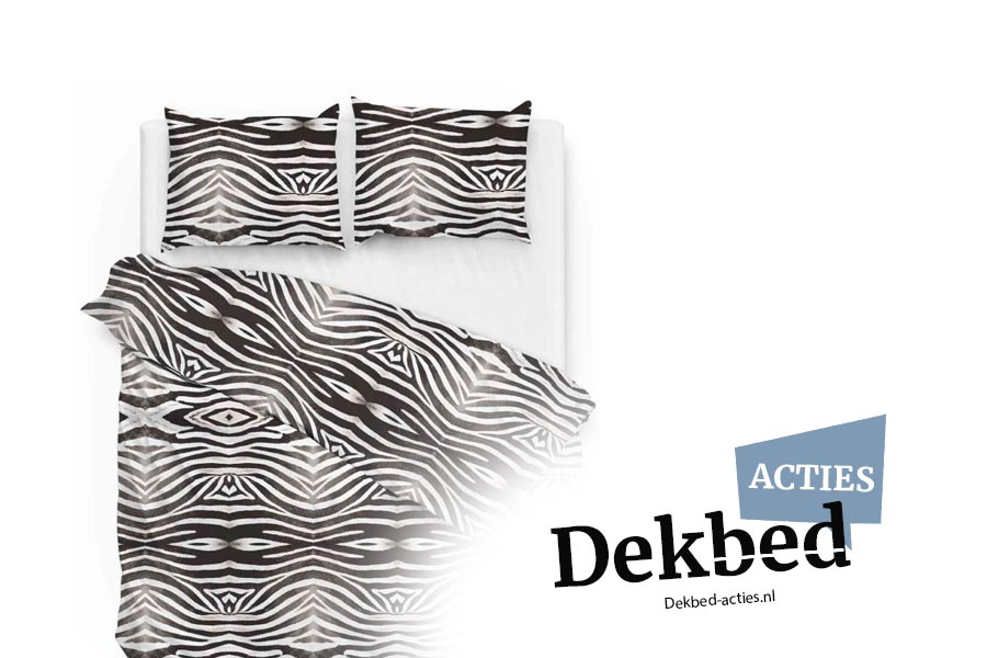dekbedovertrek zebra print