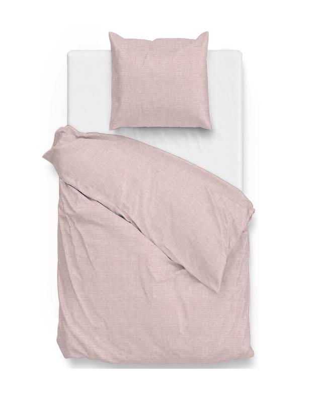 1-persoons dekbedovertrek roze
