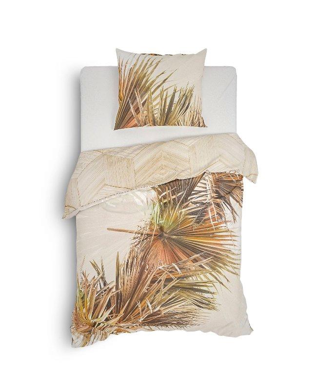 1-persoons dekbedovertrek palmblad