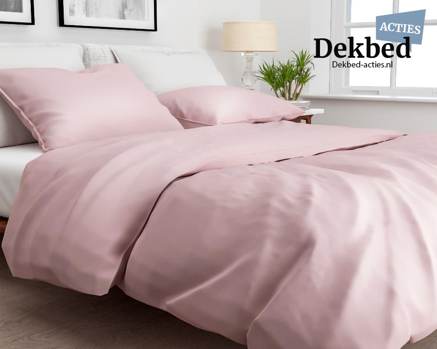 Dekbedovertrek roze