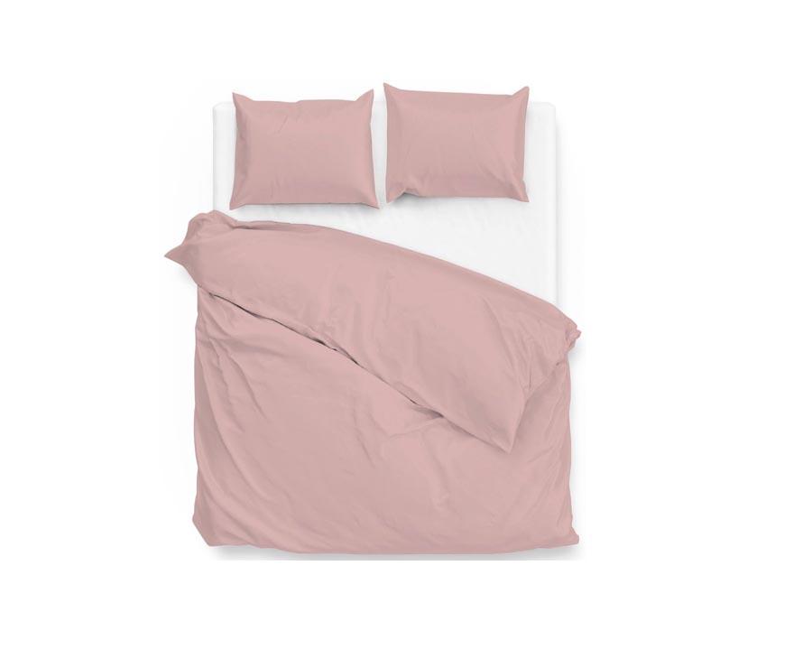 Dekbedovertrek tweepersoons roze