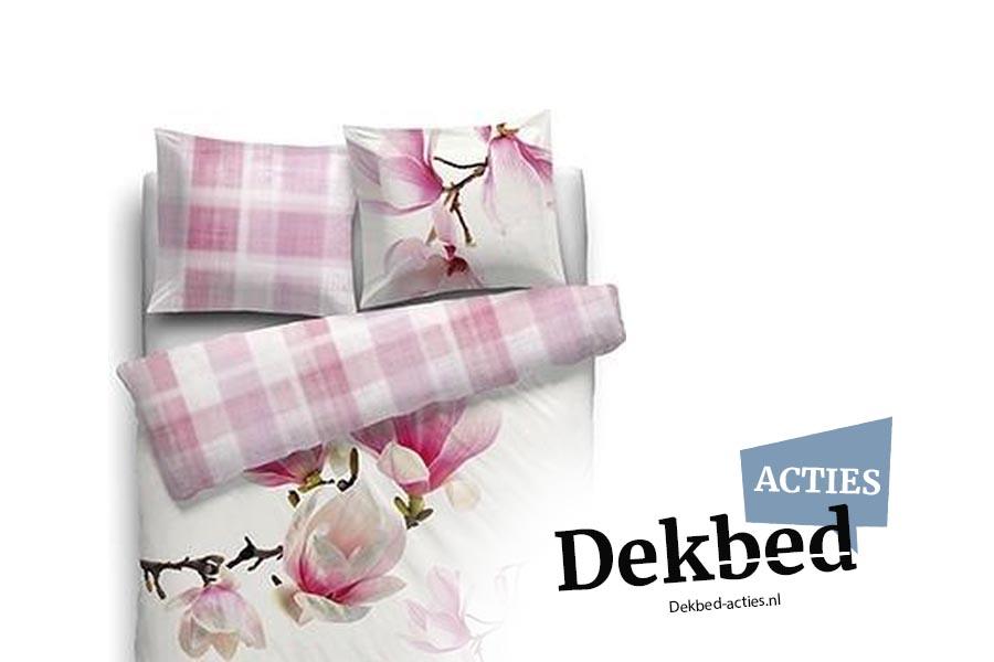 dekbedovertrek bloemen print