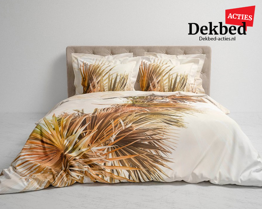 dekbedovertrek palmblad
