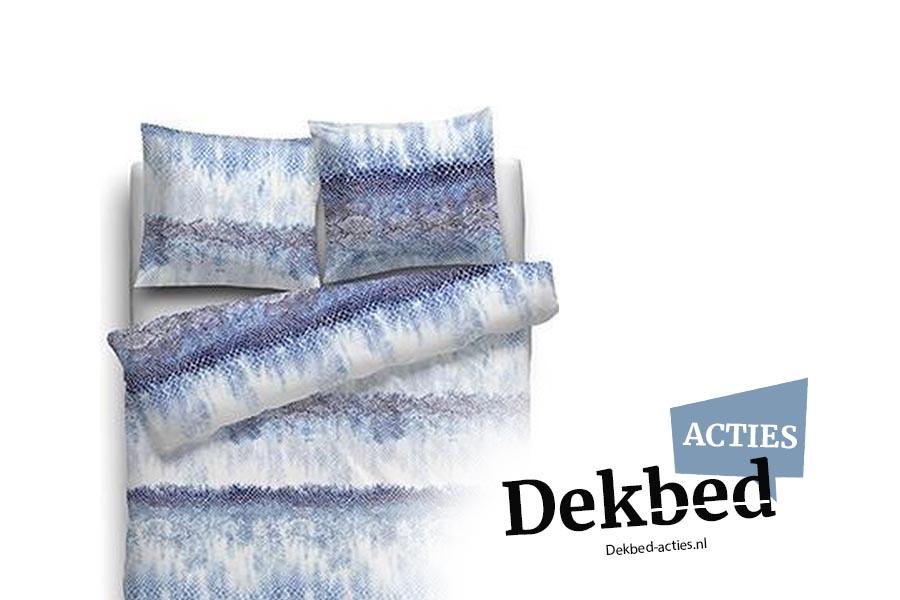 dekbedovertrek snake blauw