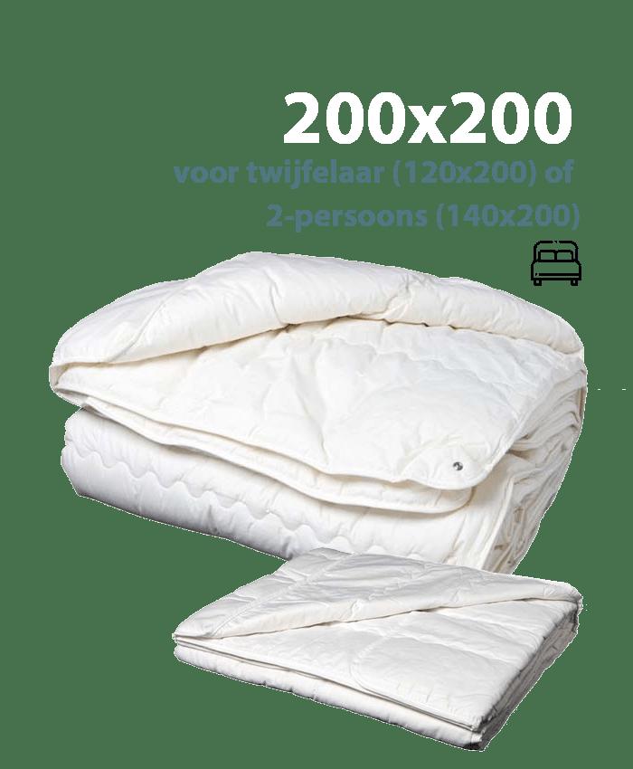 200x200 dekbed