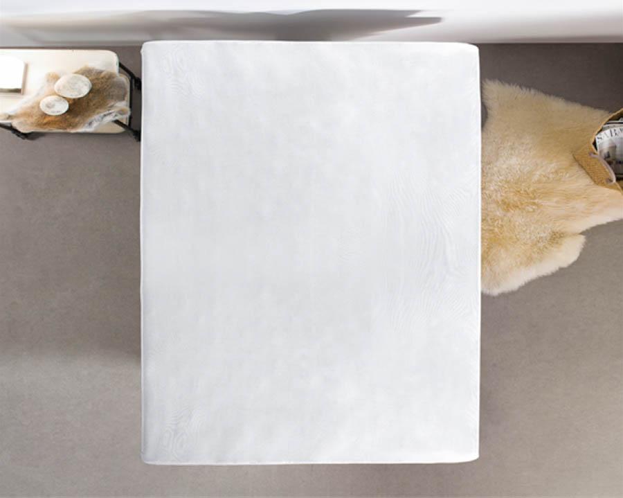 Hoeslaken wit katoen