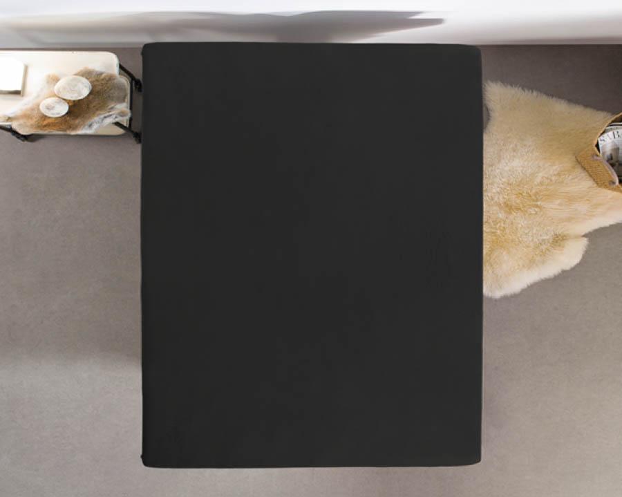 Hoeslaken zwart